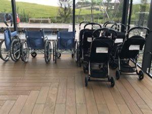 車椅子とベビーカーのレンタル