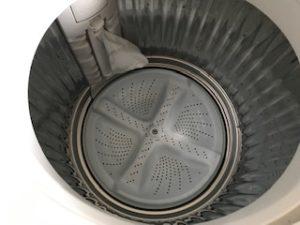 オキシ漬け後の洗濯槽