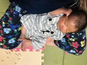 赤ちゃん Cカーブ