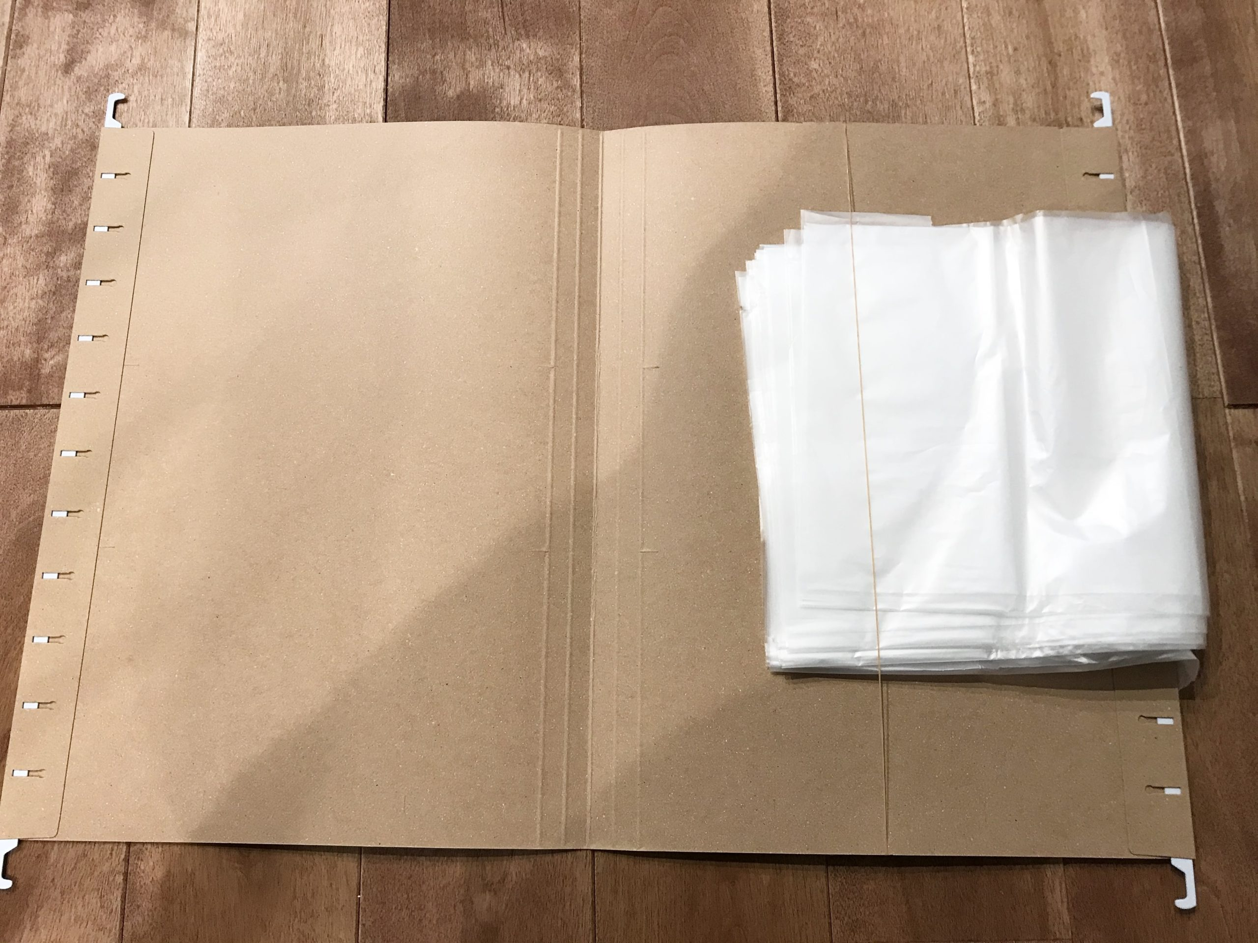 ゴミ袋の収納のやり方